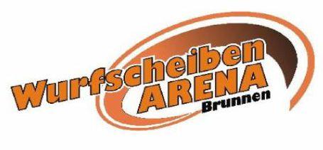 logo wurfscheibenarena-brunnen